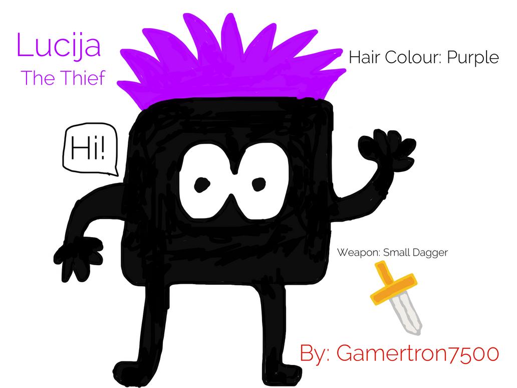 Lucija The Thief by Gamertron7500
