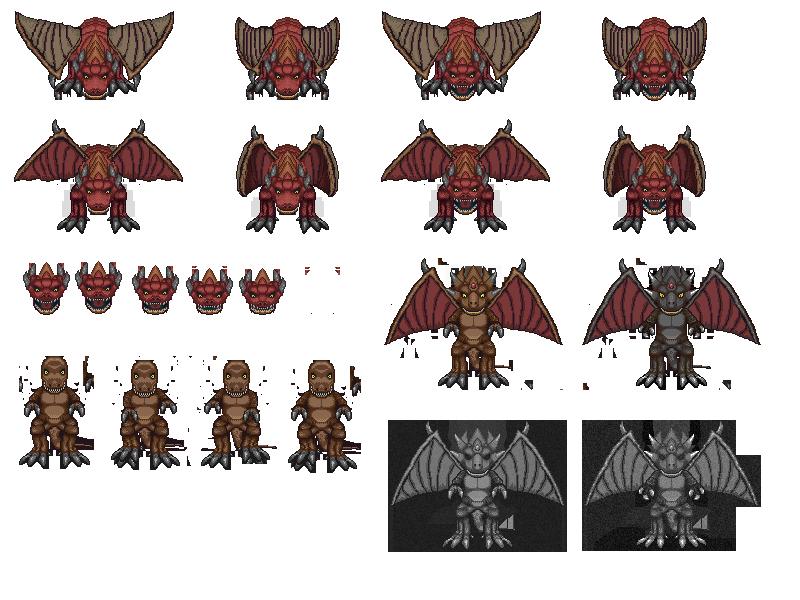 Supercow stuff  Dragon_dino_demon_by_starlands-d7aj48x