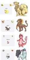 Pokemon Fusions by XxMURPLExX