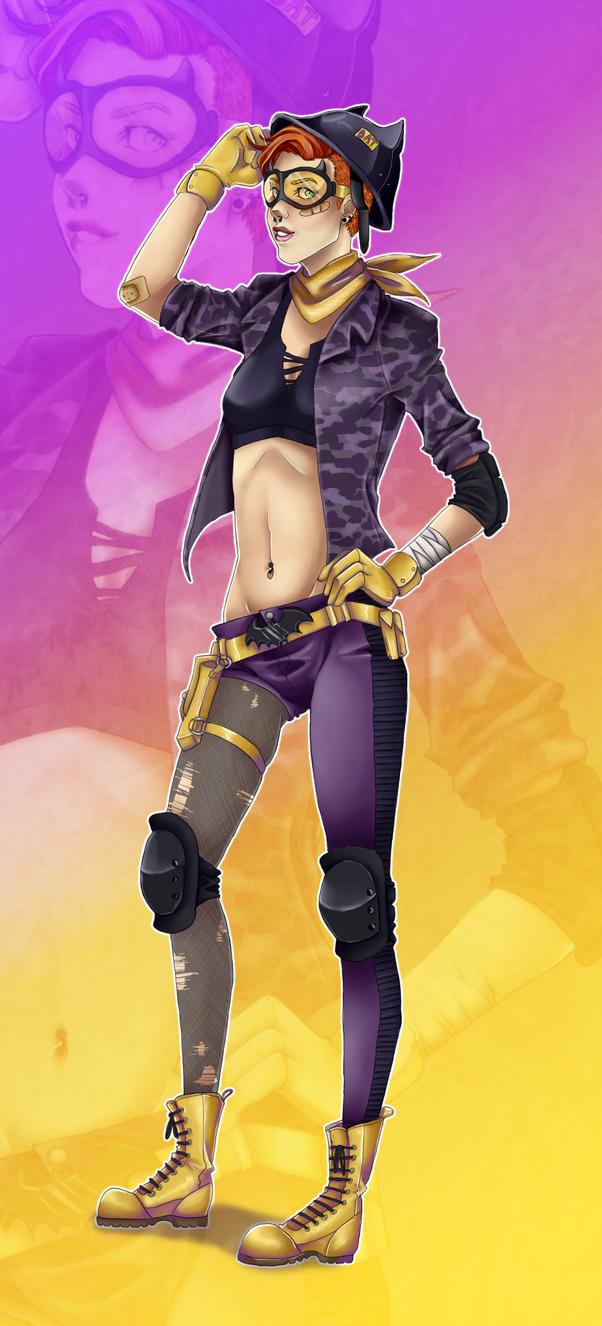 Batgirl by XxMURPLExX