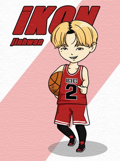 iKON: Rhythm Ta Jinhwan by anime234dotcom