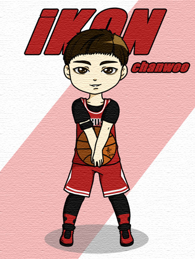 iKON: Rhythm Ta ChanWoo by anime234dotcom