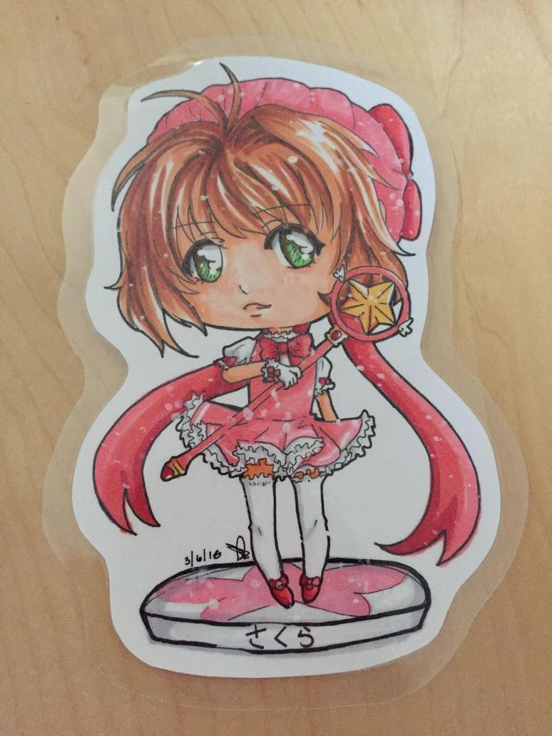 Chibi Sakura by anime234dotcom