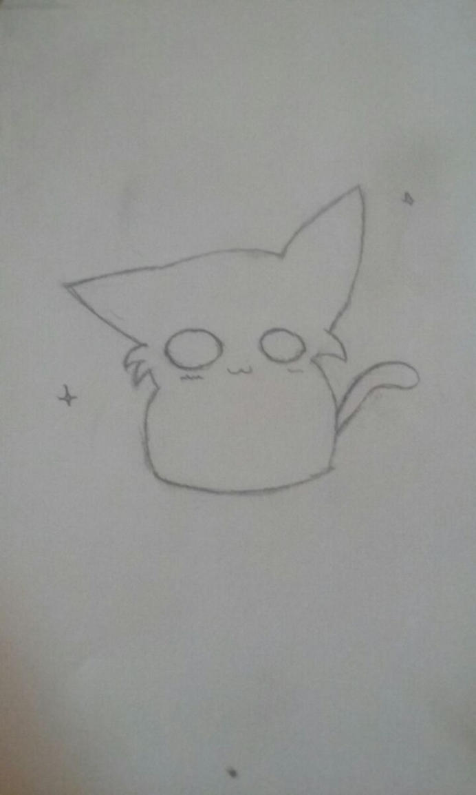 Look I Drew a Cat by Remmery