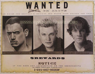 Most wanted men by diablana81