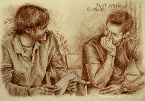 Just smile... by diablana81