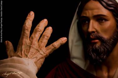 Jesus de la Bondad y Misericordia and San Pedro by diablana81