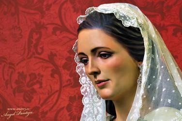 Glory Virgin Mary. Caridad y Esperanza by diablana81