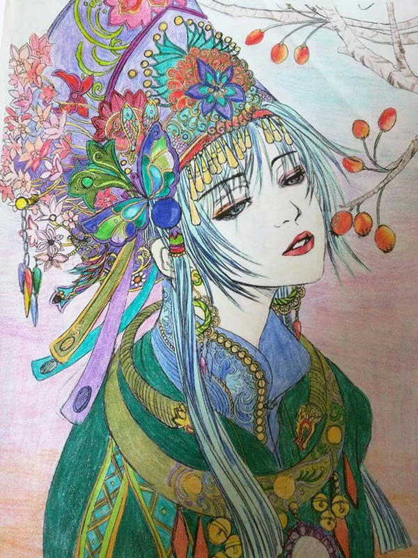 Chinese princess by aoiastraea9788