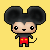 Free Icon: Mickey by Lydia-Burns