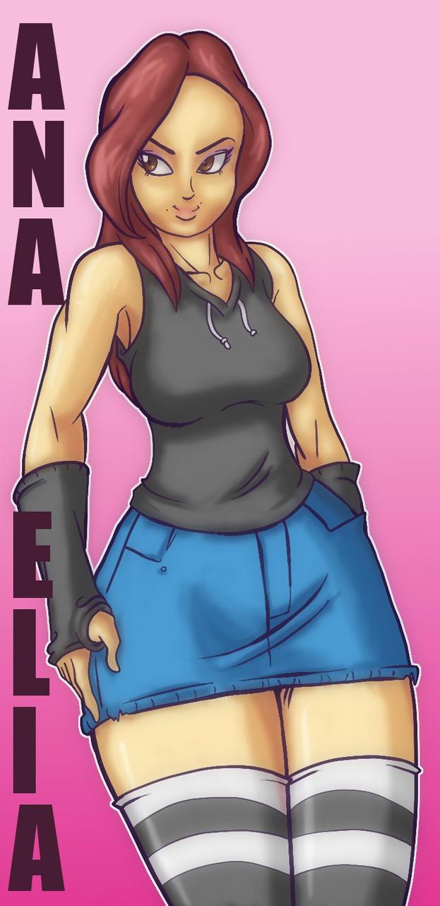 Anime Ana by dragonfetus