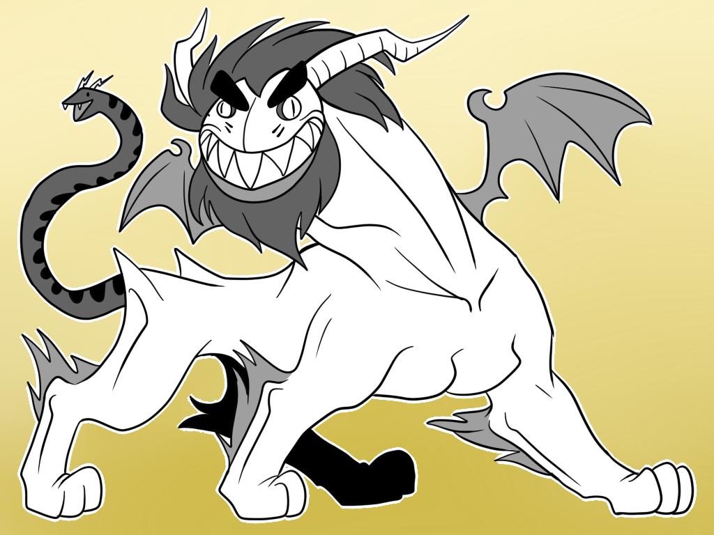 Quimeramon version dragon fetus by dragonfetus