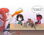 Drinking Fun by Tenebris-Funduction