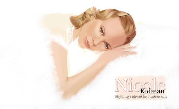 Nicole Kidman paintedbyAndrea