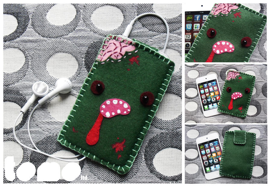 TOMO ZOMBIE - iPhone iPod Case by TomodachiIsland