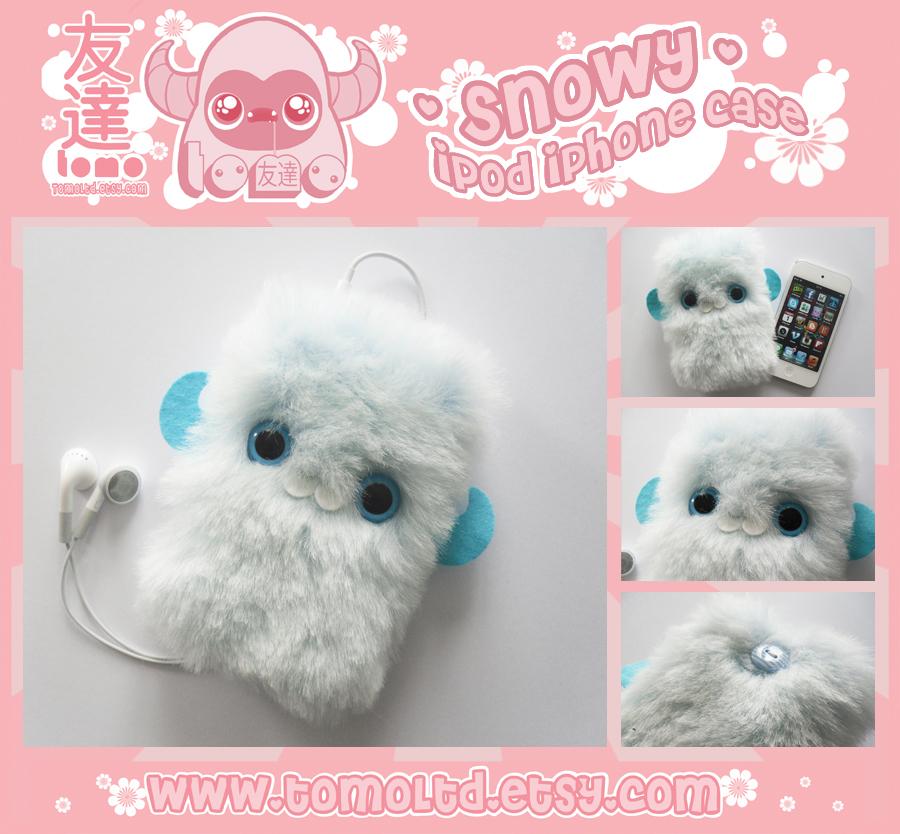 SNOWY - Kawaii iPhone iPod Case by TomodachiIsland