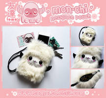 MON-CHI - Kawaii Necklace Pouch Plushie by TomodachiIsland