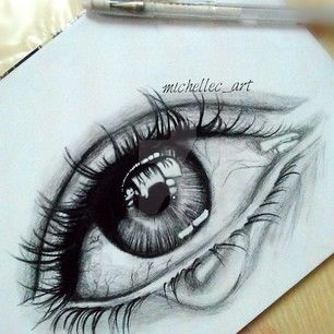 realistic crying eyes drawing quick drawing by. Black Bedroom Furniture Sets. Home Design Ideas