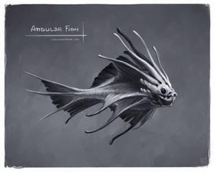 Ambular Fish by leonid-deburger