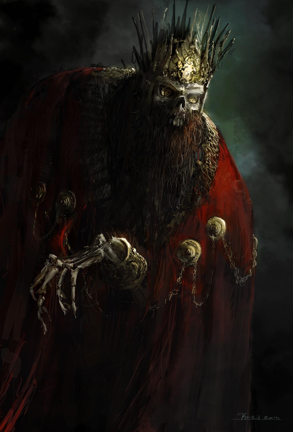 5.6 Between darkness, The Sunken City  Skeleton_king_by_ka___z-d8bw0lw