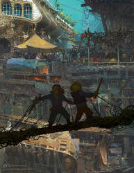 The Gatling Archipelago by Ka---Z