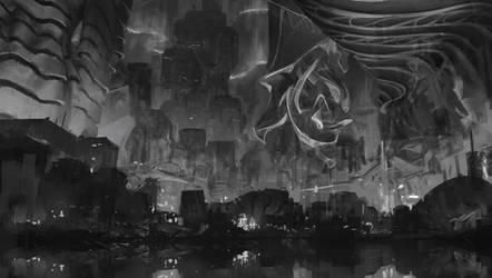 City Sketch 002
