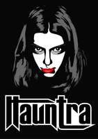 hauntra design and logo by iamsla