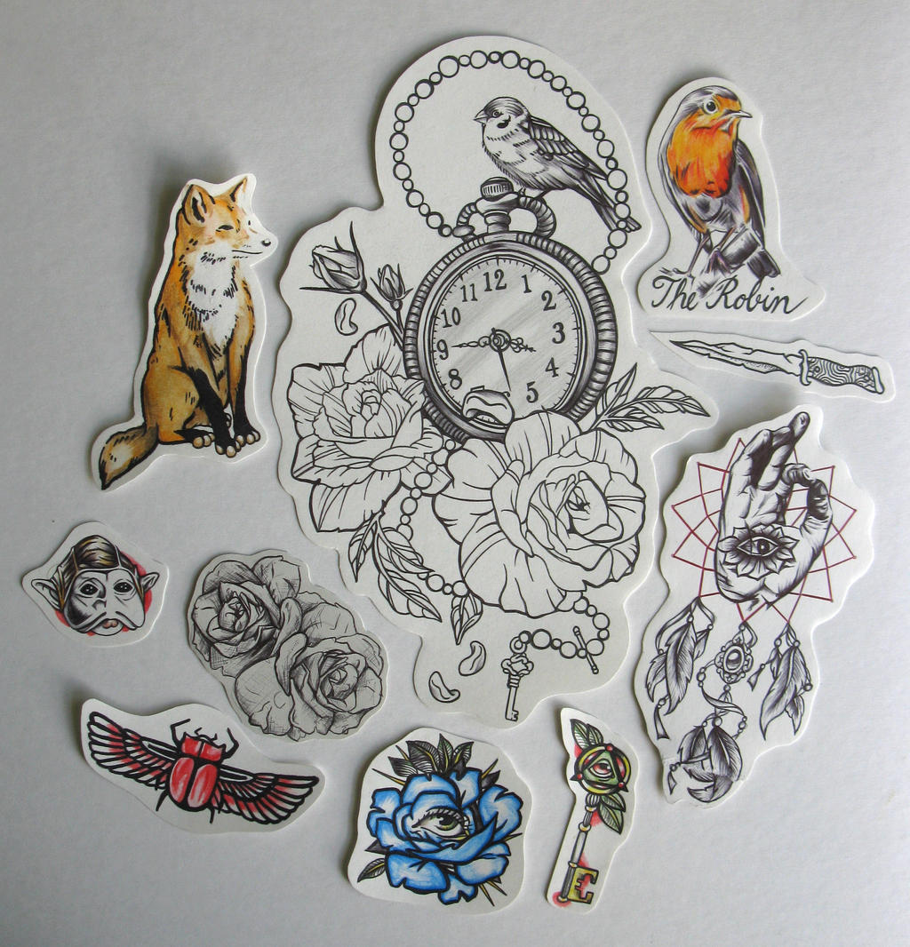 Tattoo flash by youbesonicimtails on deviantart for Traditional tattoo flash