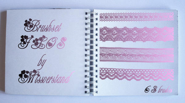 Brushset JL08, Lace by Missverstand