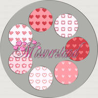 Tiles 9, Hearts by Missverstand