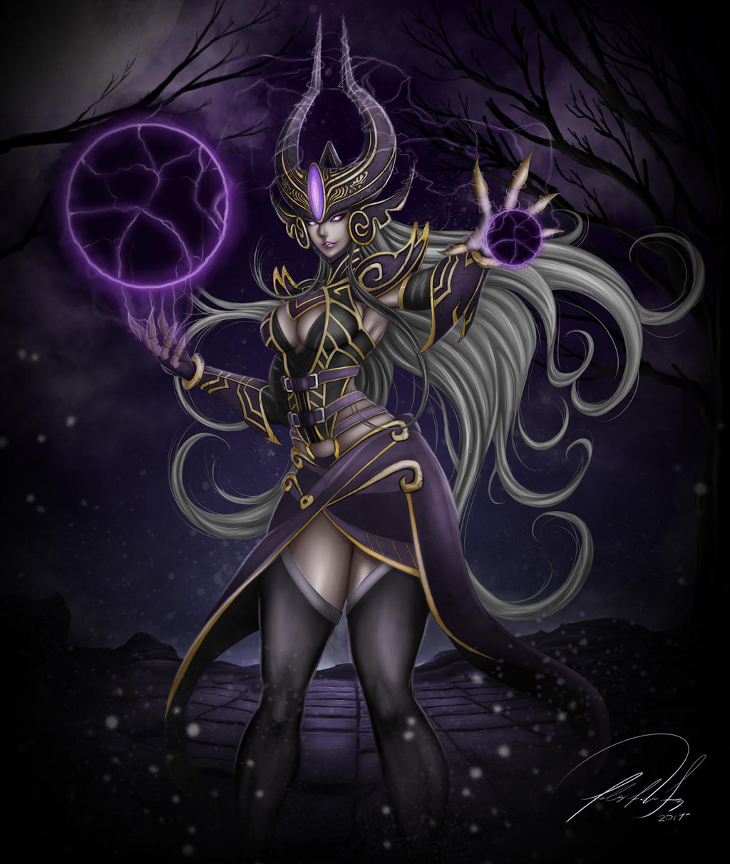 Syndra League of Legends by FF-STUDIO