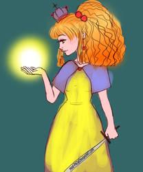 Princess Of Light Sketch