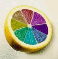 Lemon Rainbow by KisaBlue