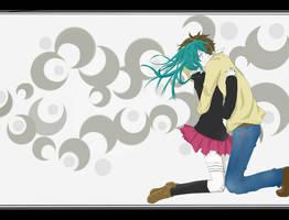 Rolling Girl by kazeyomi