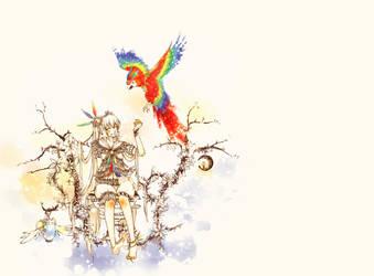 Watercolor by kazeyomi