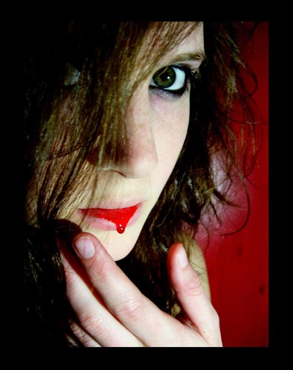 Eve the Vampire I by Feuerschildkroete