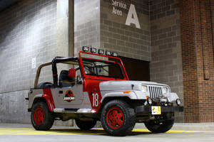 Jurassic Park Jeep Wrangler by Boomerjinks