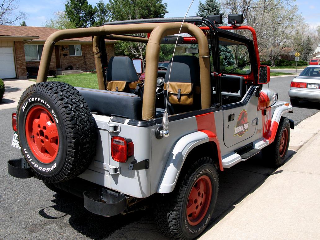 Jurassic Park Jeep Wrangler 20 By Boomerjinks On Deviantart
