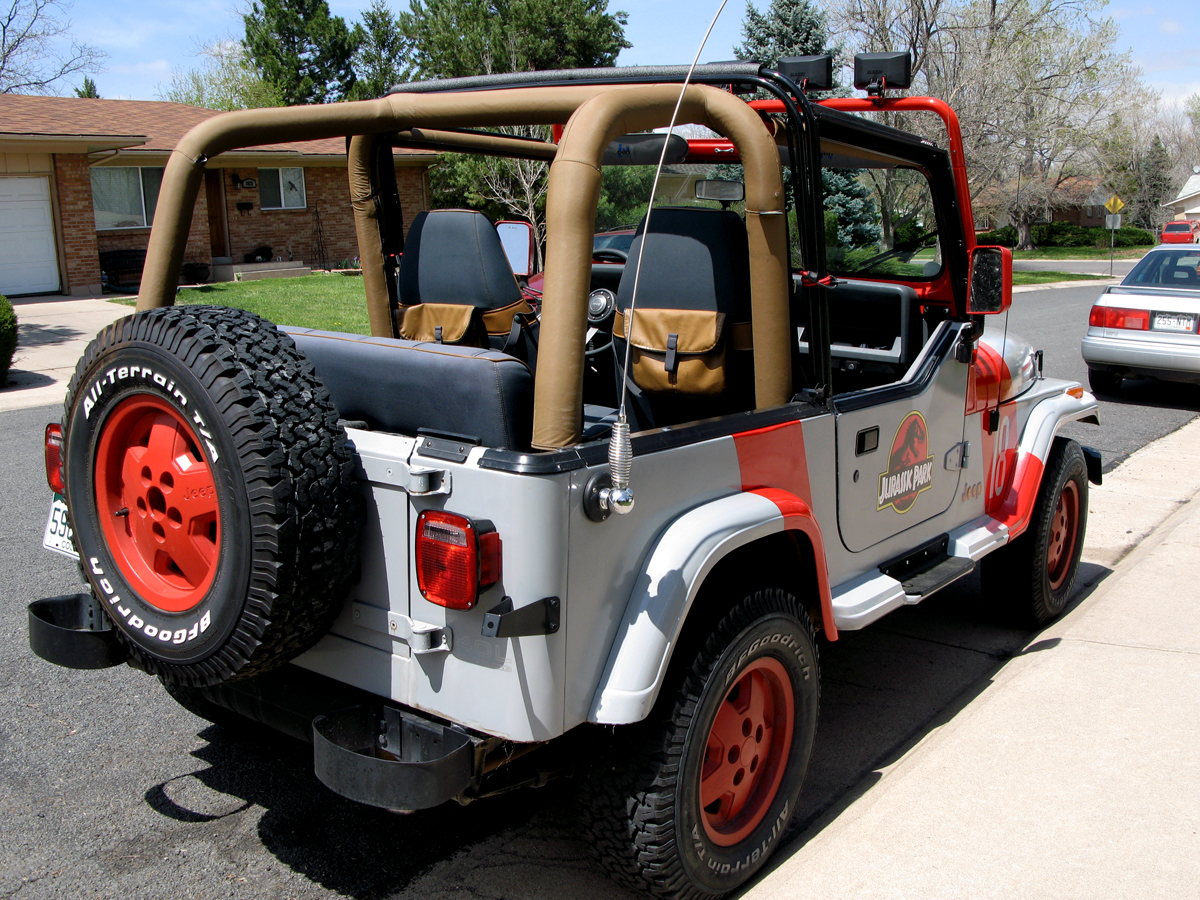 Jurassic Park Jeep Wrangler 20 By Boomerjinks On Deviantart