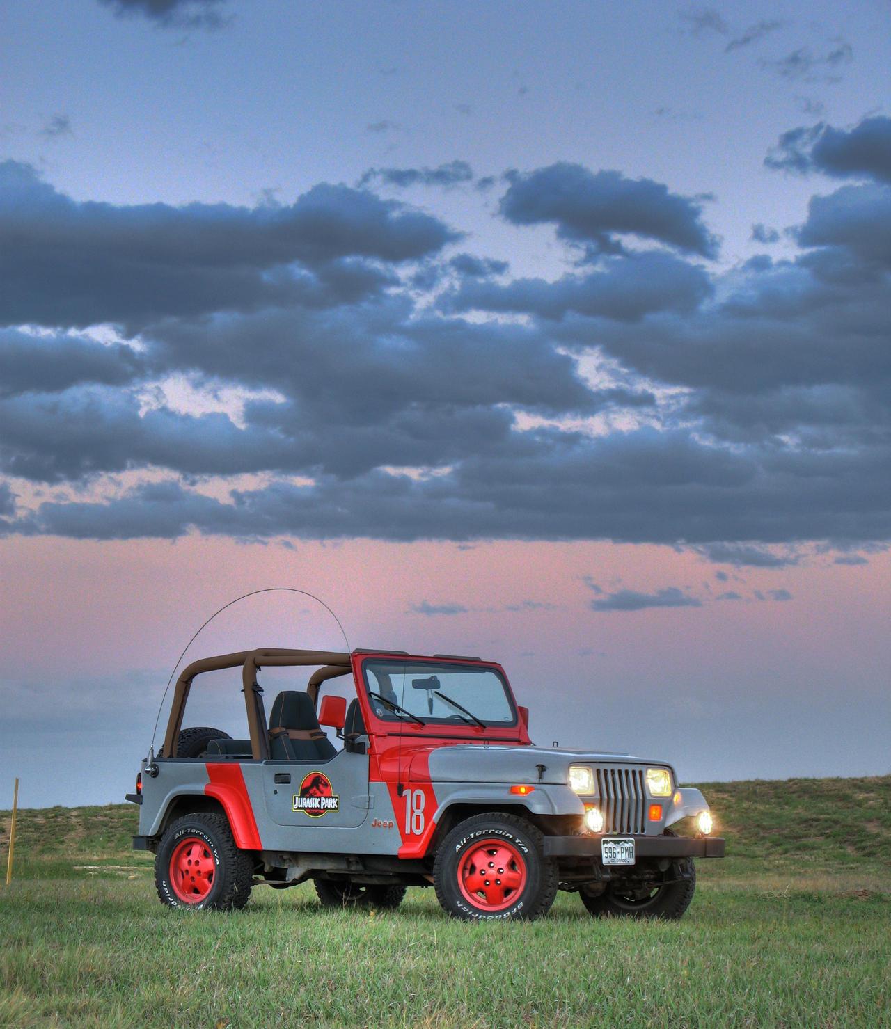 Jurassic Park Jeep Wrangler 23 by Boomerjinks