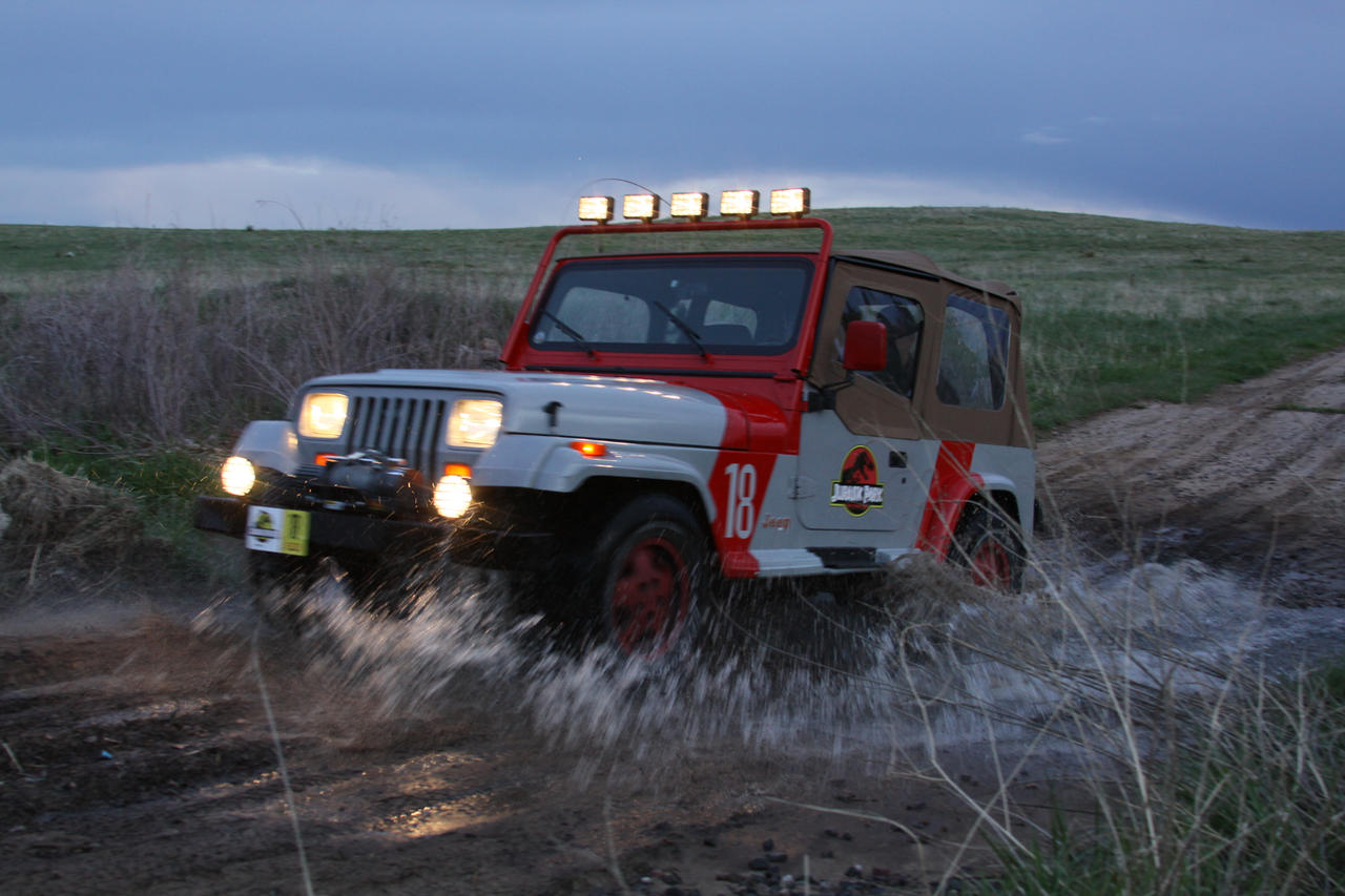 jurassic park jeep wrangler 27boomerjinks on deviantart