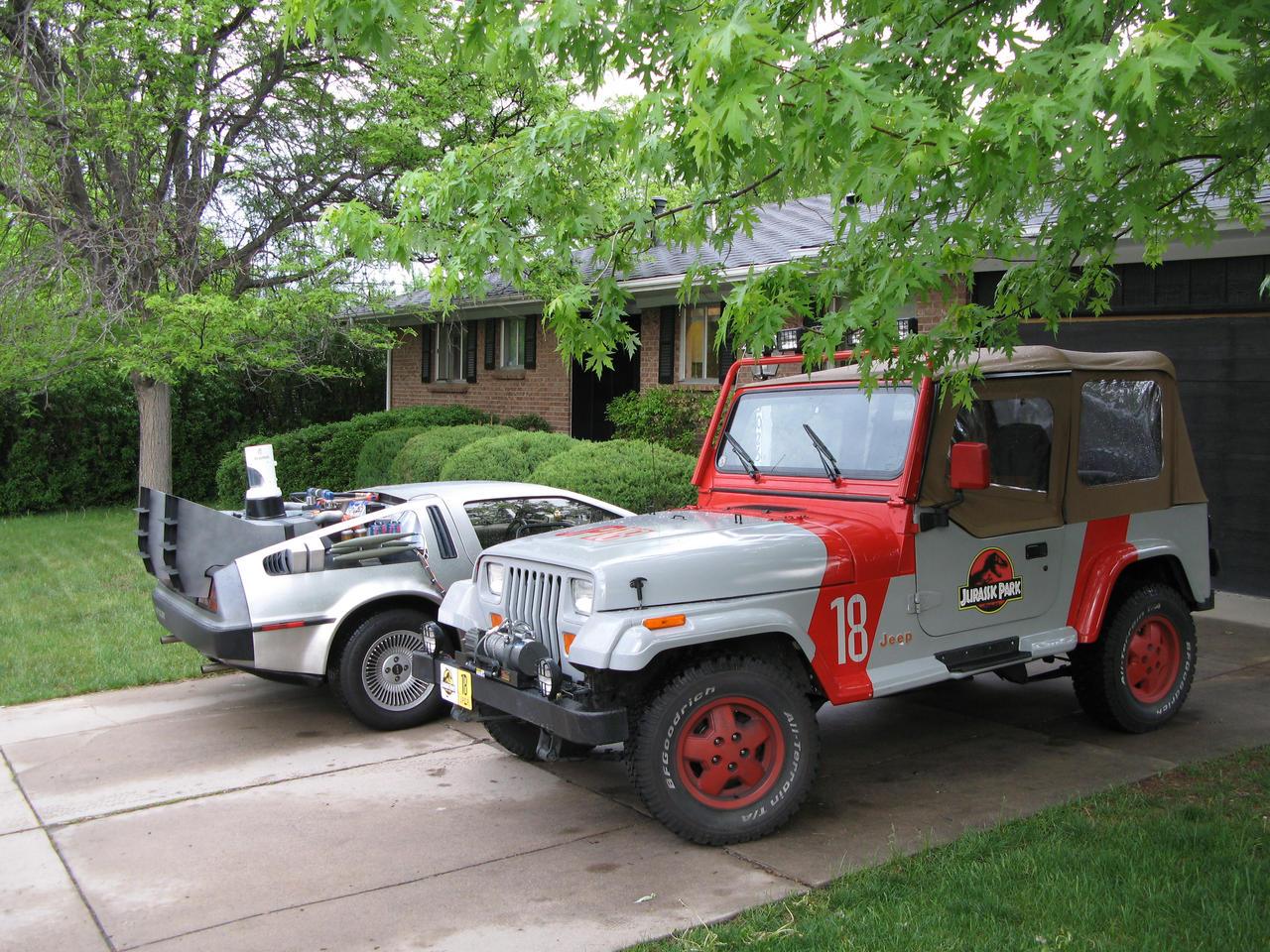 jurassic park jeep wrangler 32boomerjinks on deviantart