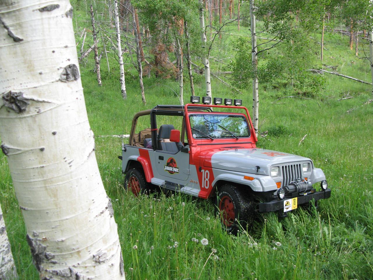Jurassic Park Jeep Wrangler 41 by Boomerjinks
