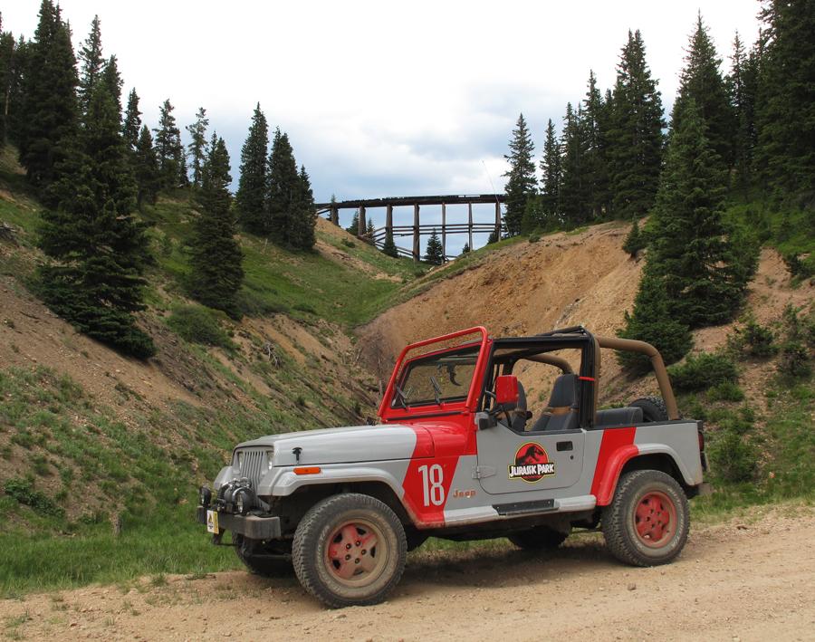 Jurassic Park Jeep 2010 by Boomerjinks