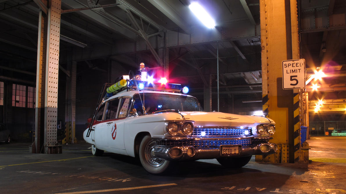ecto 1 ghostbusters wallpaper - photo #22