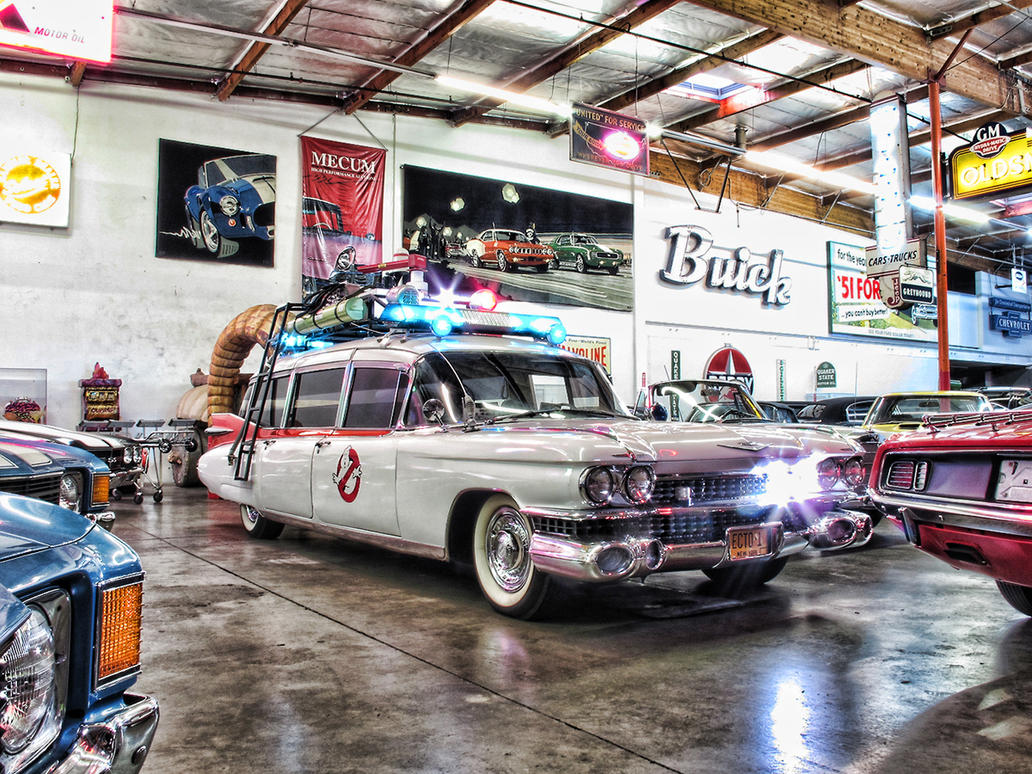 Ghostbusters Ecto-1 HDR by Boomerjinks