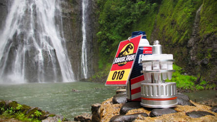 Jurassic Park Waterfall Props