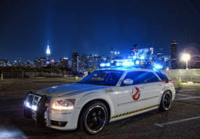 Ecto-1 in New York Revised by Boomerjinks