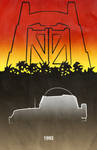 Movie Car Racing Posters - Jurassic Park Jeep