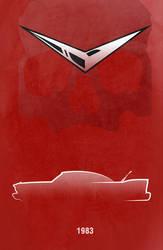 Movie Car Racing Posters - Christine by Boomerjinks